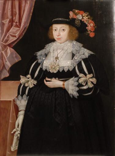 Porträt Miss Anne Hale (1609 - 1651), zukünftige Mrs. Charles Hoskins