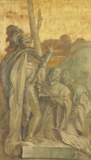 Giovanni Battista Porto wird 1661 Generalissimo der venezianischen Streitkräfte