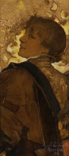 Porträt Sarah Bernhardt