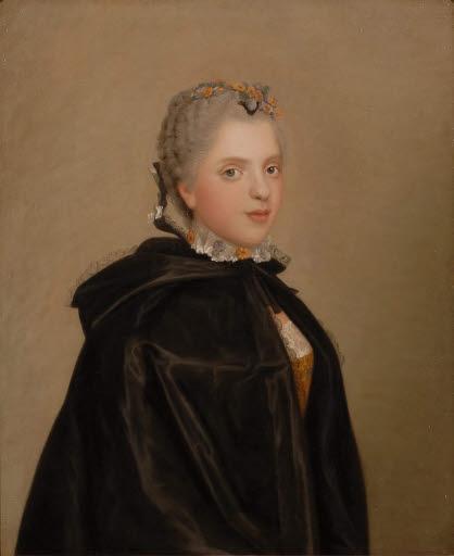 Porträt Prinzessin Sophie Philippine Élisabeth Justine de France (1734 - 1782)