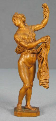 Callisto, Diana ihre Schwangerschaft enthüllend