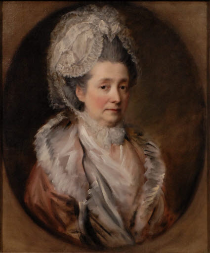 Porträt der Mrs. Gainsborough