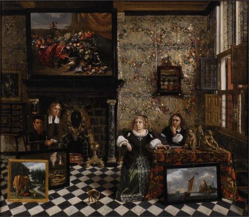 Das Kabinett eines Kunstliebhabers