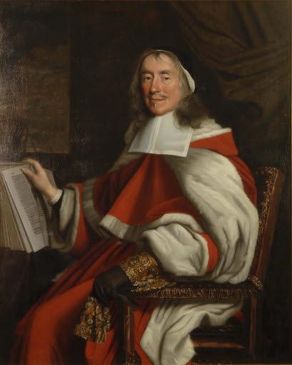 Porträt Sir Hugh Wyndham in Richterrobe