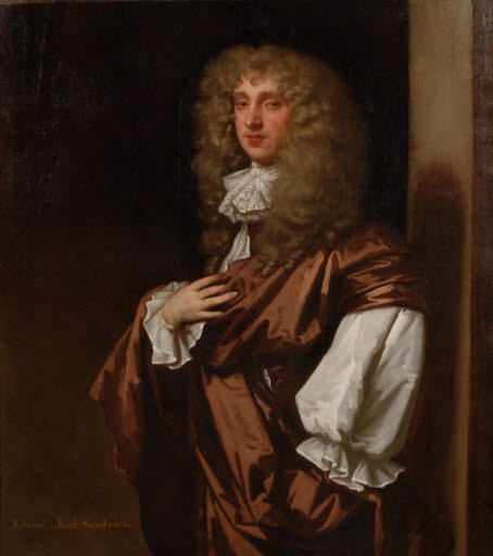 Porträt Edward Montagu, 2nd Earl of Sandwich (1647/48 - 1688)