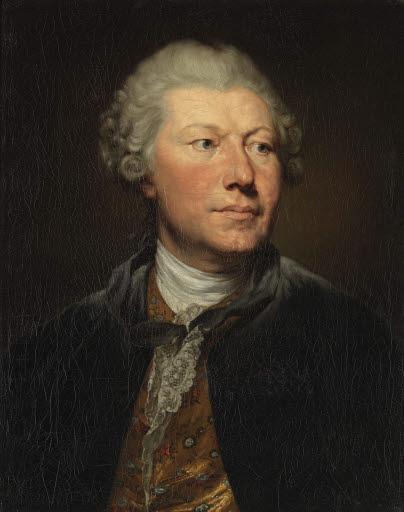 Porträt des Kupferstechers Johann Georg Wille