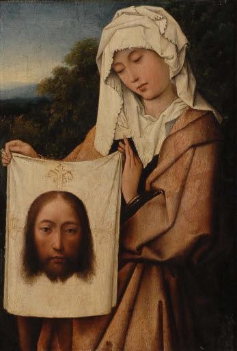 Die heilige Veronika mit dem Schweißtuch