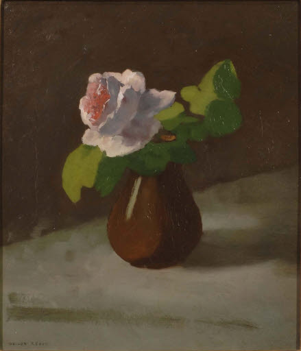Rose in einer Vase