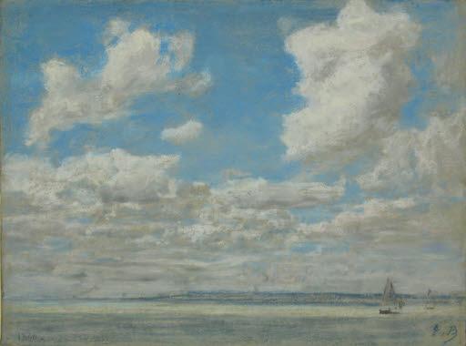 Marine au grand ciel (Seestück)