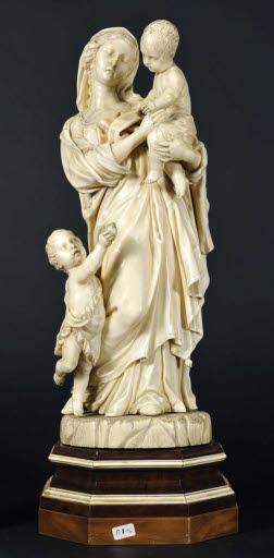 Madonna mit Kind und Johannesknabe