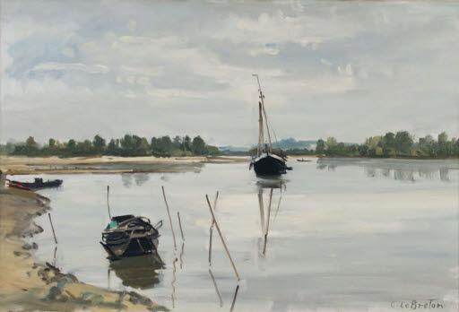 Die Loire bei Ancenis