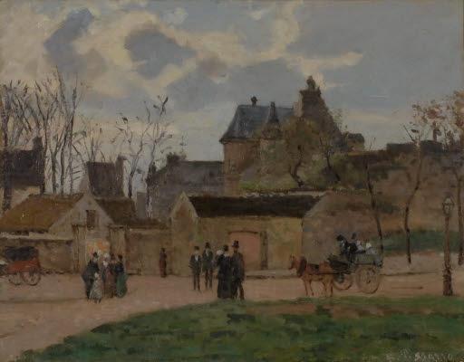 Das Gerichtsgebäude in Pontoise