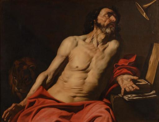 Die Vision des heiligen Hieronymus