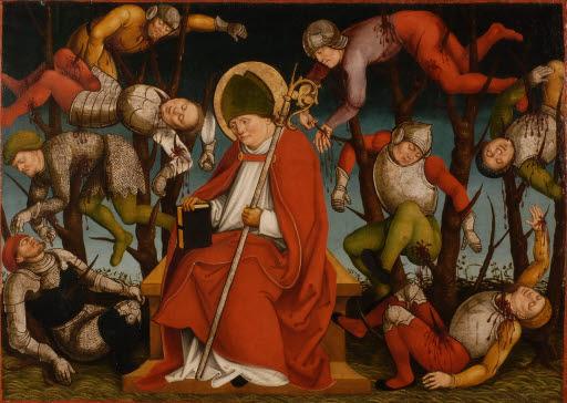 Der heilige Achatius und das Martyrium der Zehntausend