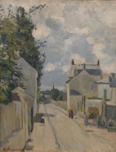 Rue de l'Ermitage in Pontoise