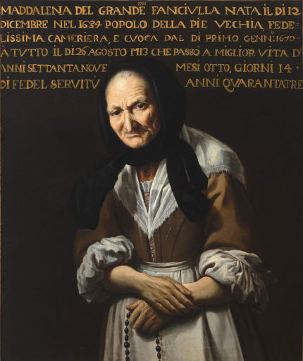 Porträt der Maddalena del Grande