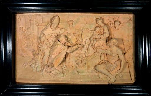 Wunderheilung des Bischofs Bonacursius von Aix