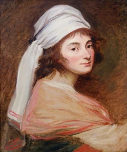 Porträt Félicité de Genlis (1746 - 1830)