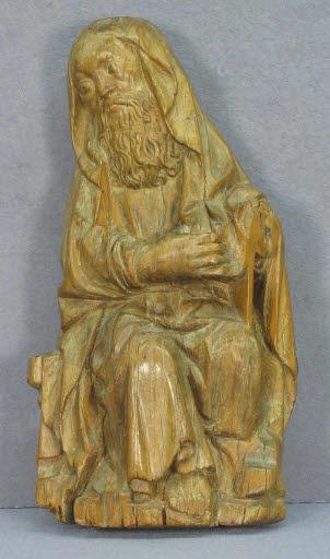 Sitzender Apostel