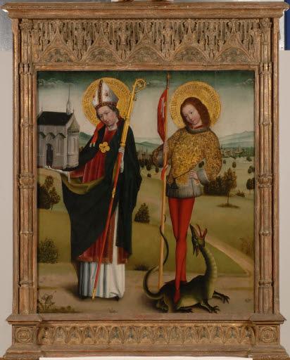 Heiliger Anno und Heiliger Georg