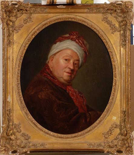 Porträt Etienne Jeaurat (1699 - 1789)