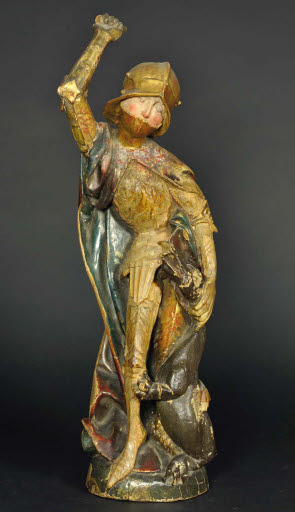 Heiliger Georg mit dem Drachen