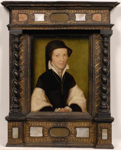 Porträt einer Frau, wohl Marie de Batarny (1539 - 1595), Frau von Guillaume II. de Joyeuse
