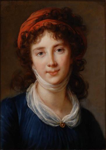 Porträt der Charlotte Ritt