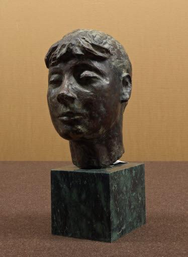 Kopf einer jungen Frau