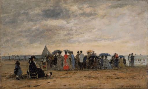 Der Strand von Trouville