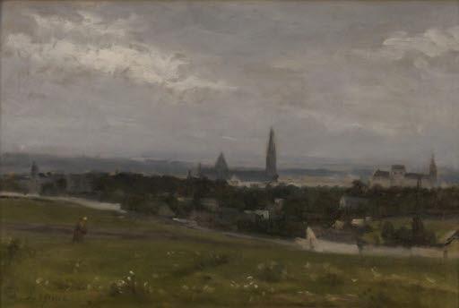 Landschaft bei Saint-Leu