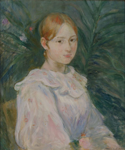 Alice Gamby en buste (Halbfigurenporträt Alice Gamby)