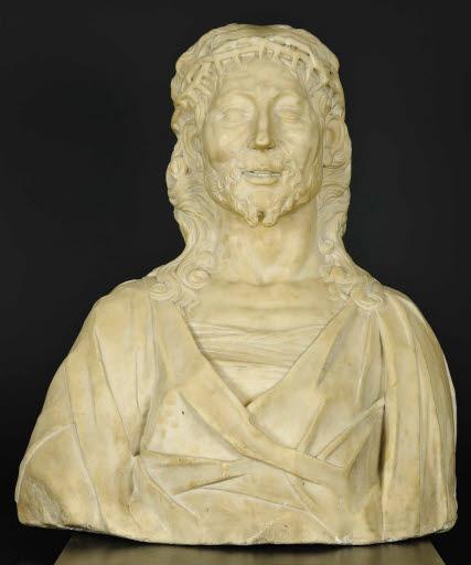 Büste Christi mit Dornenkrone