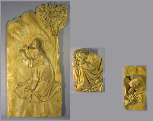 Christus, Petrus und Johannes im Garten Gezemaneh