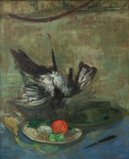 Stilleben mit Vögeln