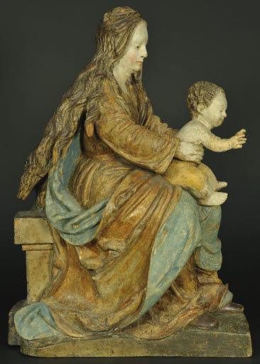 Madonna mit Kind aus einer Anbetung