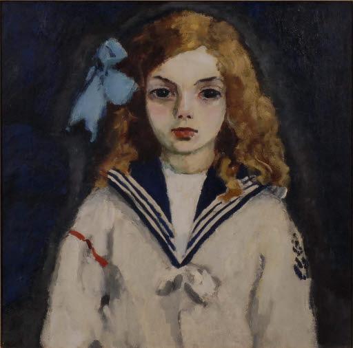 Mädchen im Matrosenanzug - Dolly van Dongen
