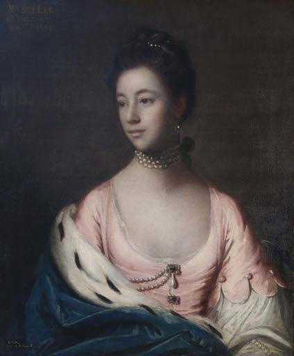 Porträt Mrs. Mary Buller (+ 1767)
