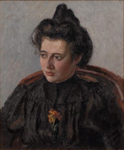 Porträt von Jeanne, der Tochter des Künstlers