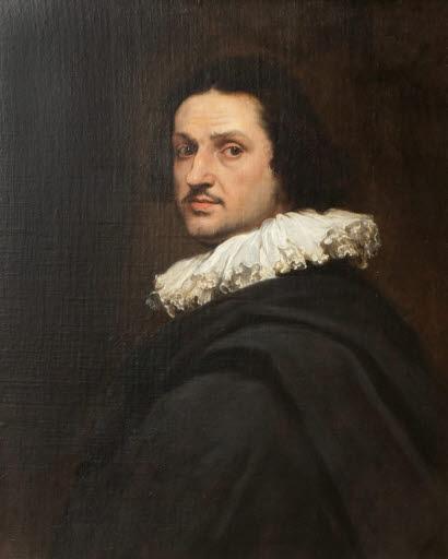 Porträt eines Mannes (Halbfigur)