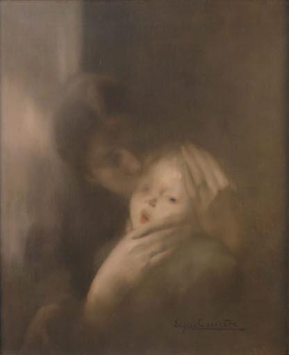 Maternité (Tendresse) (Mutter mit Kind)