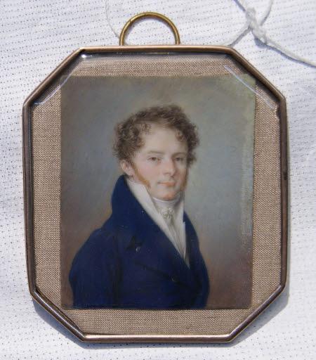 Bildnis des Wiener Majoratsherrn Innozenz von Odescalchi, Herzog von Syrmium (1778 - 1833)