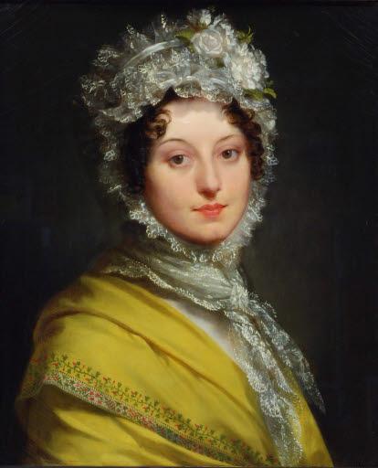 Porträt der Louise de Guéhéneuc, Duchesse de Montebello (1782 - 1856)