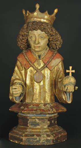 Büste des heiligen Sigismund