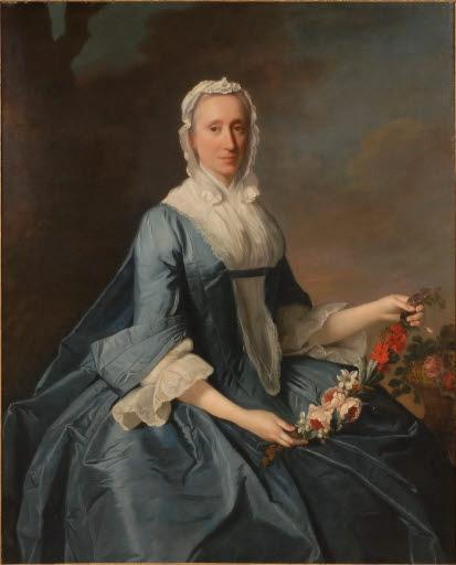 Porträt Miss Finch