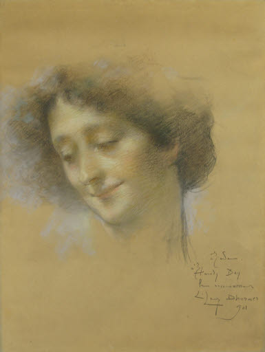 Porträt einer jungen Frau, eventuell Madame Hamdy
