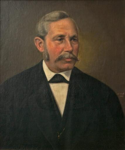 Porträt eines Mannes (Urgroßvater von Dr. Rau)
