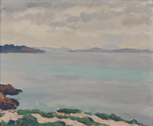 Une baie sur la Méditerranée (Bucht am Mittelmeer)