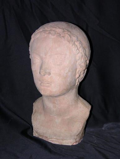 Tête de jeune femme (Kopf einer jungen Frau)