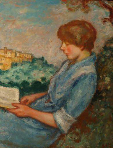 La lecture en plein air (Lektüre im Freien)